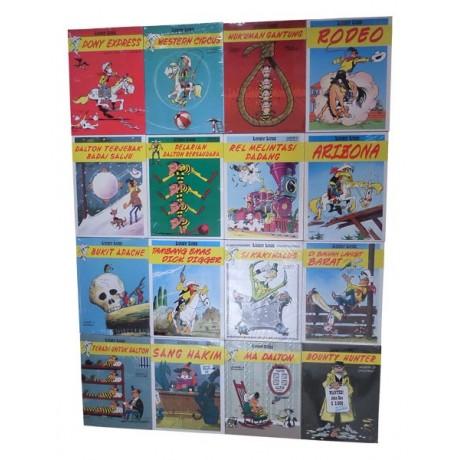 Paket 16 Komik Lucky Luke