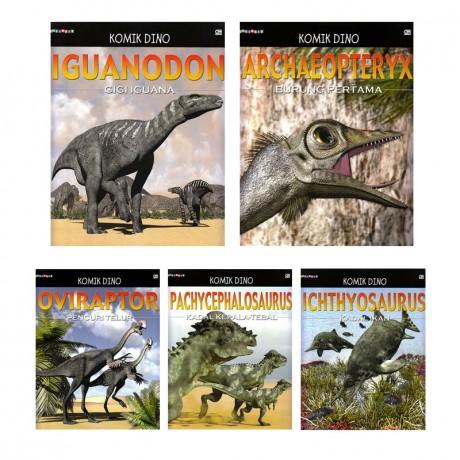 Paket 5 Buku Edutivity: Komik Dino